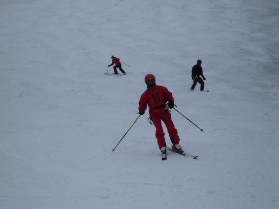 4 Skiing