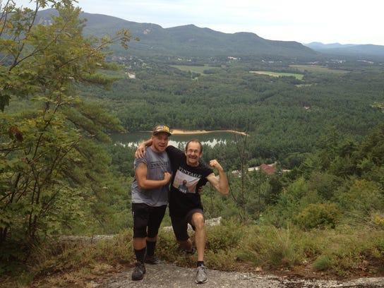 BUR 0521 shane beam hike dad