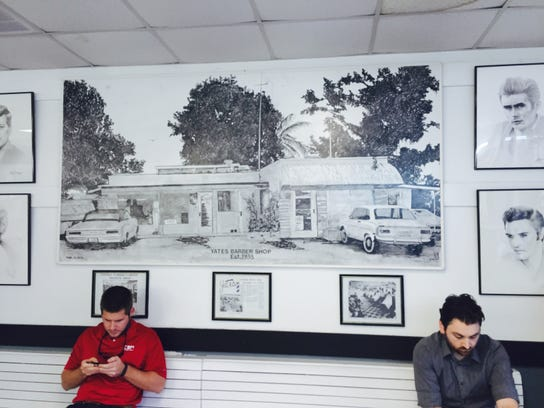 Yates Barber Shop has been around since 1938 and has
