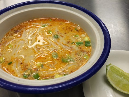 Coconut noodle soup from Thai Star