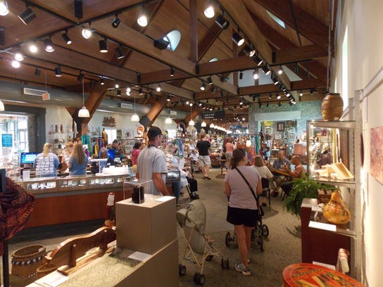 Works by nearly 700 artisans can be found at the Kentucky