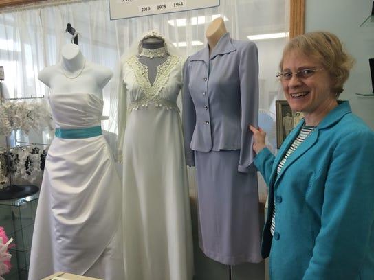 Kathy Pechinski and a generation of wedding dresses: