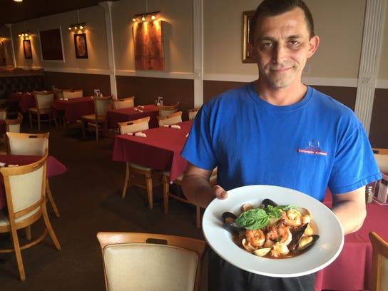 Massimo Esposito, owner of La Tavola Italian Restaurant,