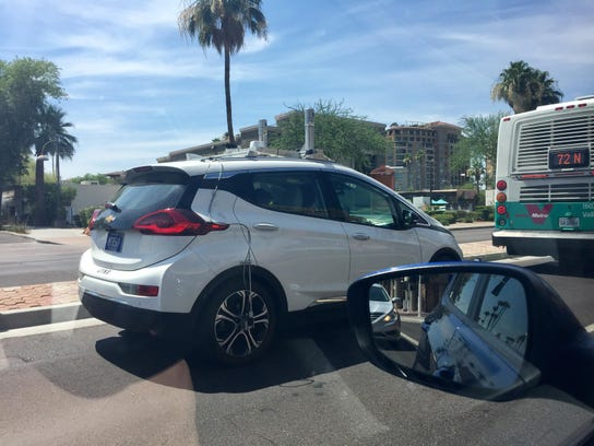 Phoenix Emerging As Mich Rival For Self Driving Tests