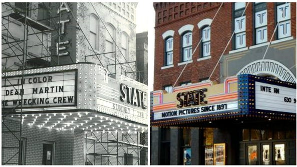 The State Theatre in Washington, Ia., is the oldest