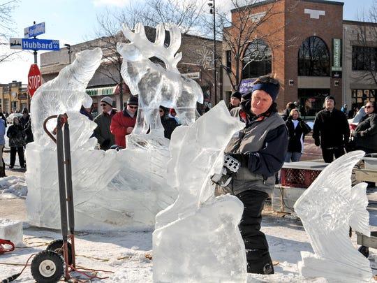 Winterfest on Broadway