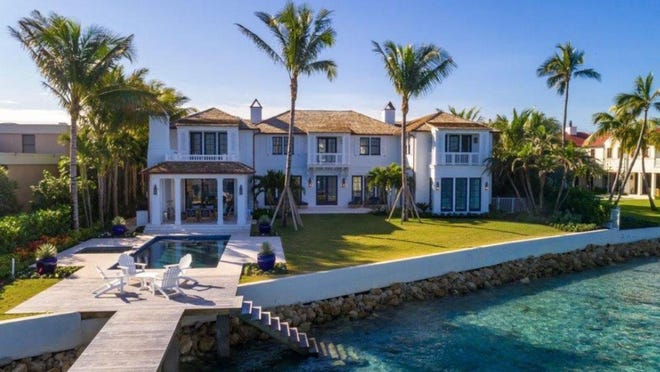 The fourth quarter of 2019 saw the sale of this house at 1610 N. Ocean Blvd., which changed hands off-market for a recorded $25.5 million in early November.