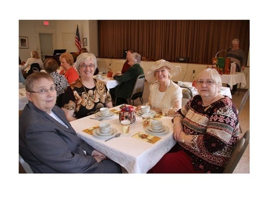Millville Woman's Club Thanksgiving Teag