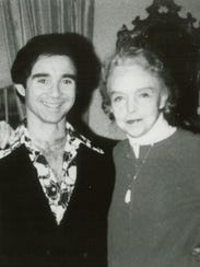 Anthony Carr and Lillian Gish in 1980