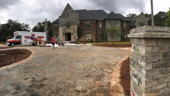 Tiger Moving shared photos from one of its biggest jobs – moving Coach Dabo Swinney and family into their new home.