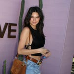 Model and fashionista Kendall Jenner is often photographed wearing bralettes or outfits without bras on the red carpet and at music festivals.