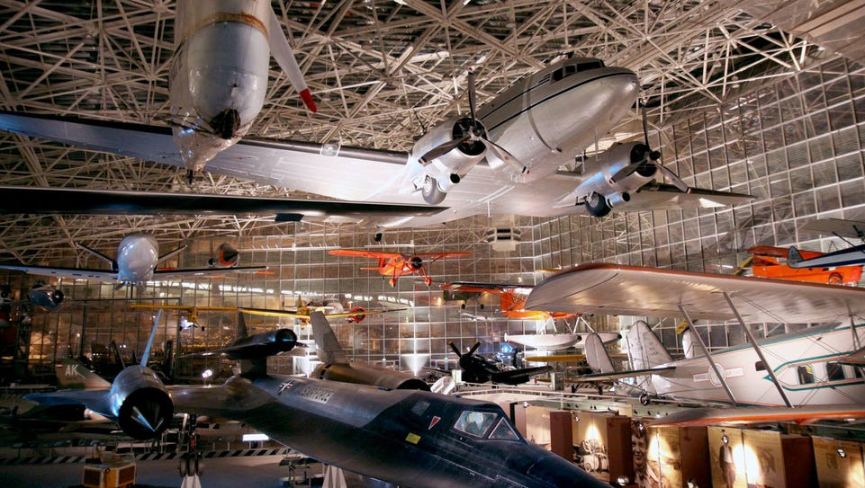 The Museum of Flight honors the Boeing Company's 100-year
