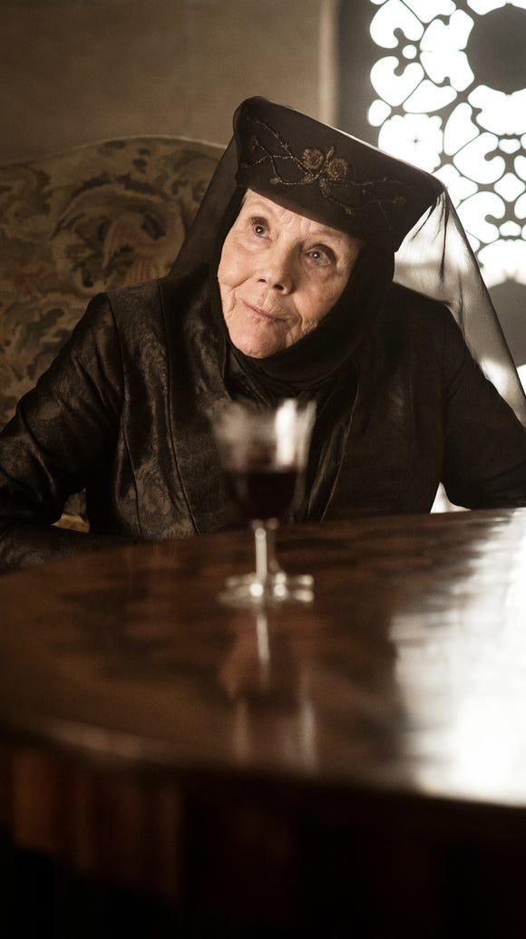 Olenna Tyrell's final moments (Episode 3).