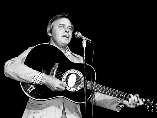 Tom T. Hall performs for his fans during the RCA Records