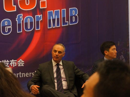 Rob Manfred at CES