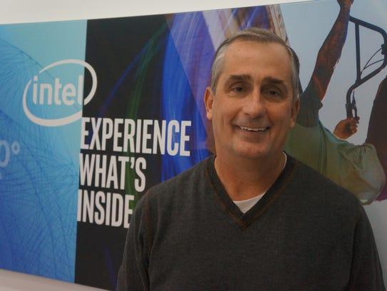 Brian Krzanich has been Intel CEO since 2013.