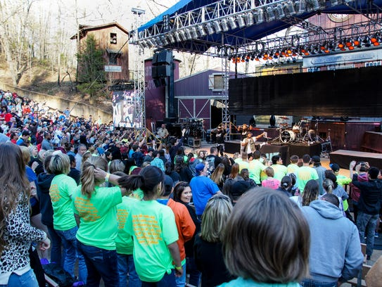 Young Christians Weekend at Silver Dollar City has