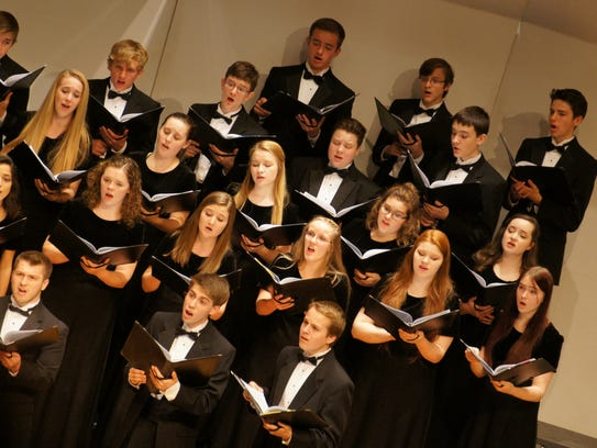 The Youth Chorale of Central Minnesota Cantanti is