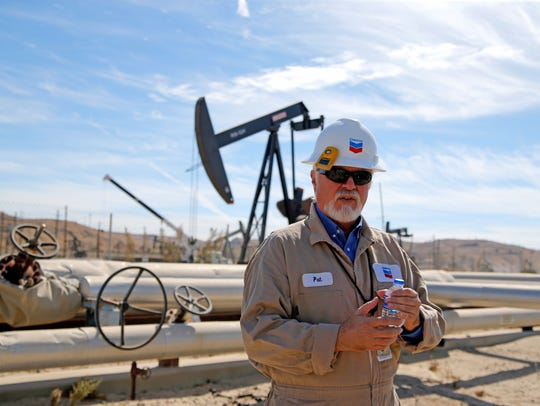 Pat Young, facilities operations foreman for Chevron,