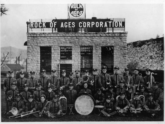 Historic photo of The Rock of Ages Band