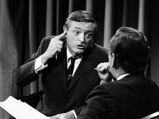 WILLIAM BUCKLEY;GORE VIDAL