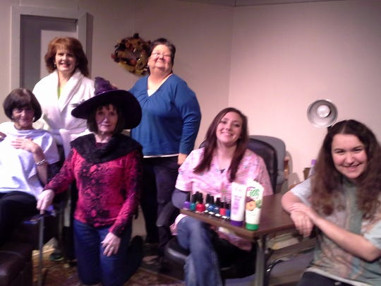 "The ladies of ""Hallelujah Girls"" solve the problems of the world at the day spa."