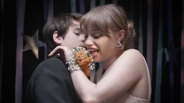 KFC introduced a chicken wing corsage just in time for prom season.