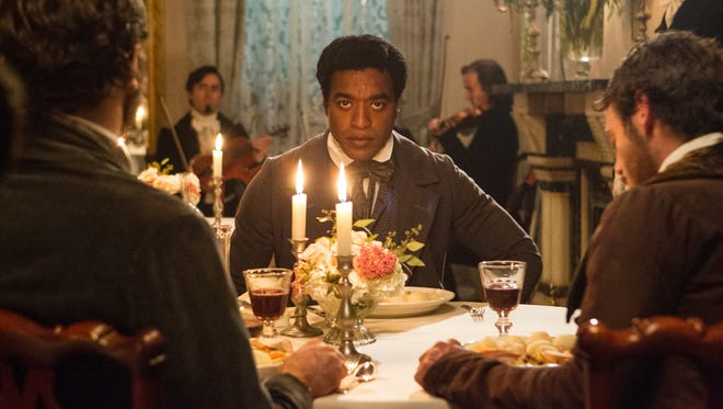 Chiwetel Ejiofor in a scene from '12 Years A Slave.' The film was nominated for a Spirit Award for best feature on Tuesday, Nov. 26, 2013. The Spirit Awards will take place Saturday, March 1, 2014.