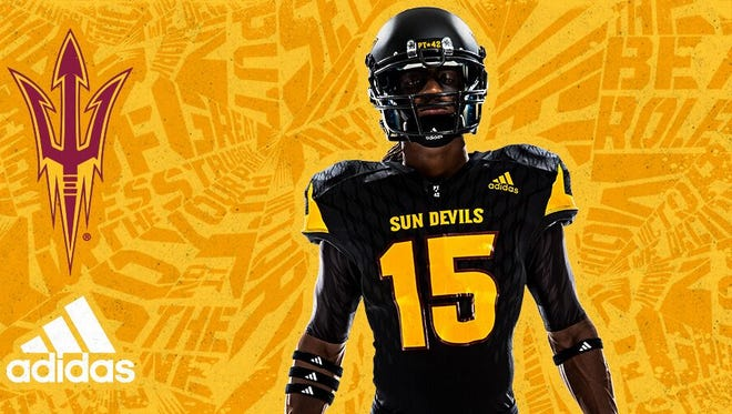 ASU football revealed new uniforms.