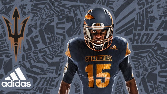 """ASU unveiled the new """"Be the Hammer"""" uniforms."""