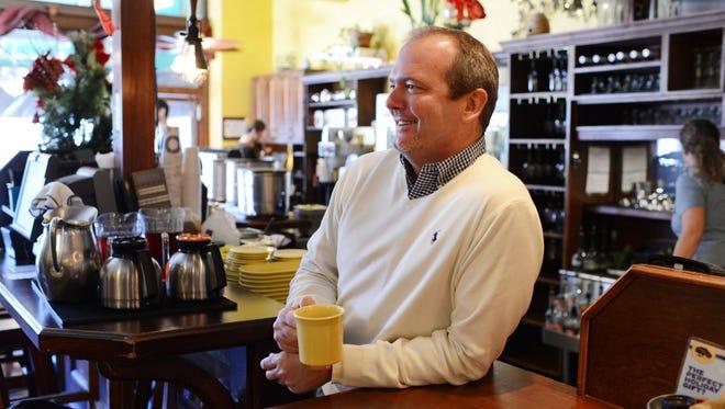 Citizen-Times photo Steve Frabitore took over Tupelo Honey in 2008.