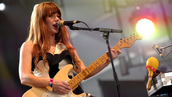 """Jenny Lewis brings her limited 10th anniversary """"Rabbit Fur Coat"""" tour to The Grand in Wilmington this weekend."""