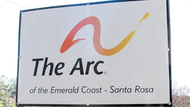 The Arc of the Emerald Coast's building in Milton is pictured Dec. 15, 2016.