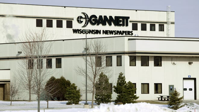 Gannett announced it will end production at its Appleton print facility and shift it to a regional facility in Milwaukee.