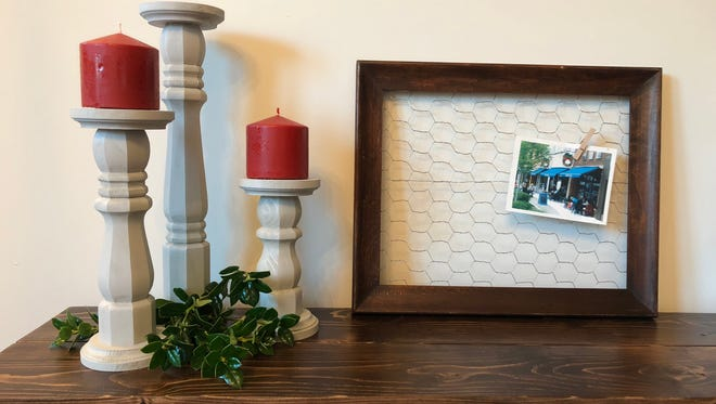 White and Walnut will bring its re-purposed farmhouse decor to the holiday craft and car show Nov. 11-12 at Williamson County Ag Expo Park.