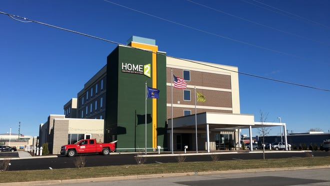 Home2 Suites opened its doors to customers Thursday.