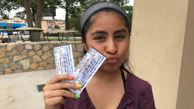 El Paso teen Bobbi Ann is ready for Khalid's 915 concert in September.