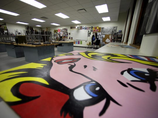 Menasha High School's new art room creates a fun environment