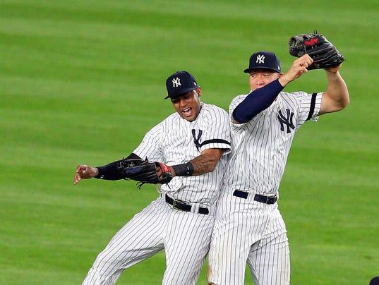 USP MLB: ALDS-CLEVELAND INDIANS AT NEW YORK YANKEE S BBA NYY CLE USA NY