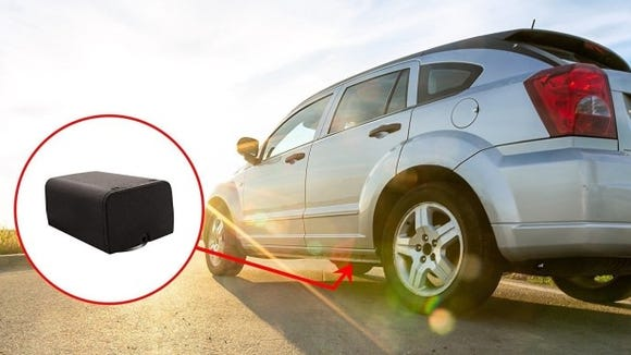 Track your car or fellow campers with this GPS tracker.