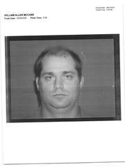Former gymnastics coach William McCabe is serving a
