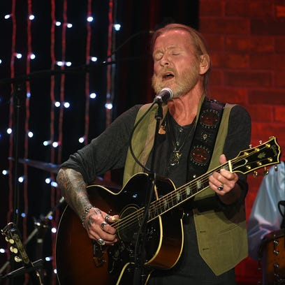 Gregg Allman performs during a tribute in his honor
