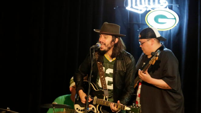 Cory Chisel performs as the Clubhouse Live charity show in the grand ballroom of the Radisson Paper Valley Hotel in 2015