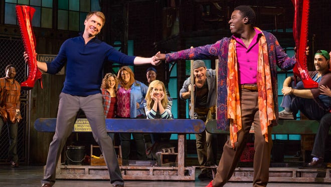"""""""Kinky Boots"""" begins its run at the Fox Cities PAC Tuesday."""