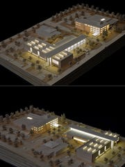 Expansion plans for the Montana Heritage Center.