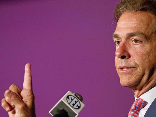 Saban SEC Media Days