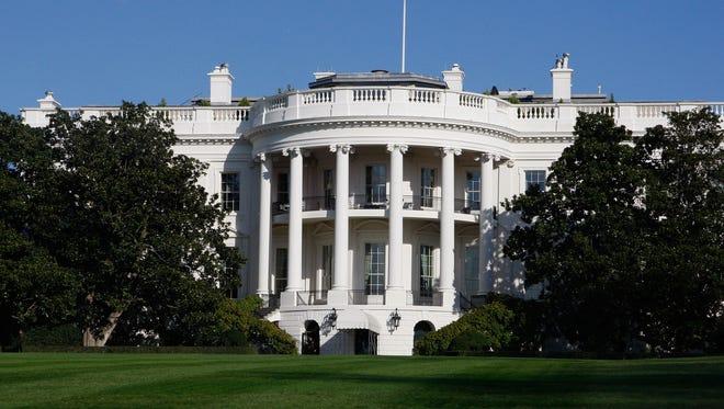 The White House in Washington, in this Tuesday, Nov. 18, 2008 file photo.