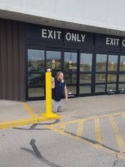 "Shane Zahn, 53, of Garner, Ia., posted on Facebook about his April 24 visit at Mills Fleet Farm in Mason City, claiming he was denied the use of an electric wheelchair when heading back to his vehicle after shopping. Zahn, in his post, said he had to ""walk out on my hands and knees."""