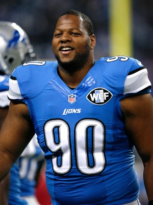 Ndamukong Suh can smile wide after earning a huge new contract from the Miami Dolphins in free agency.