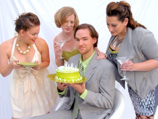 Robert (Shayne Jones) and Girlfriends.jpg